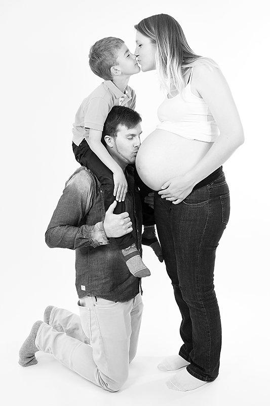 Wiedersehen beim Babybauchshooting